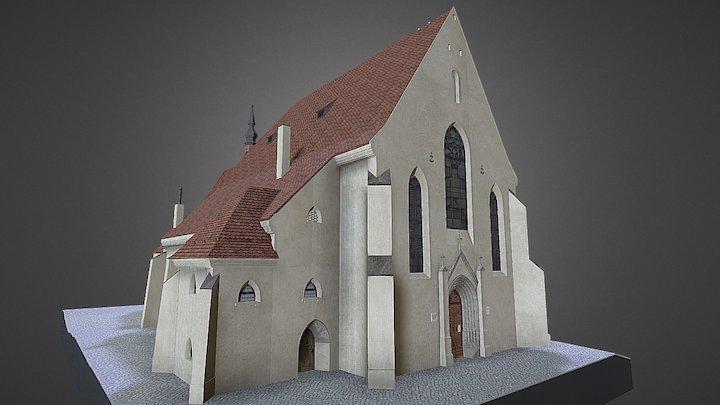 Biserica Mânăstirii - Sighișoara 3D Model