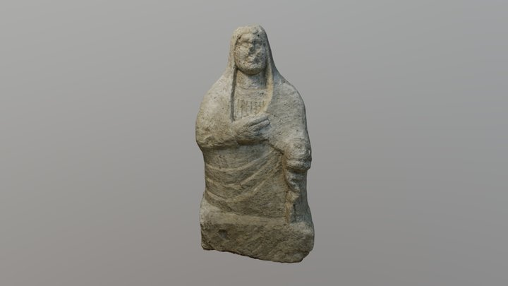 Синдская скульптура, I в. н.э. 3D Model