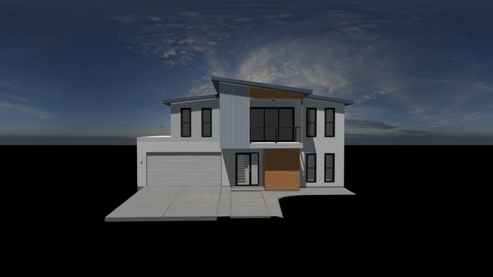 Halle 240 3D Model