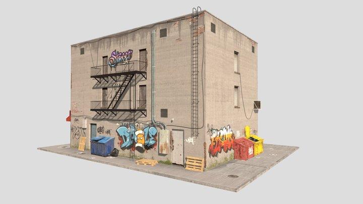 ny building (fixed) 3D Model