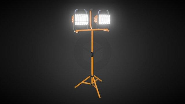 Work Light Tripod 3D Model