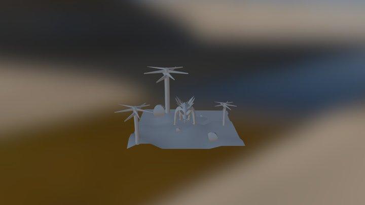 Stego Final Scene 3D Model