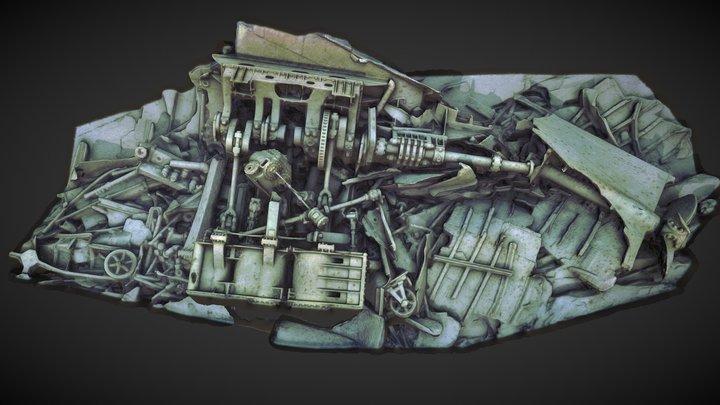 Isle Royale Glenlyon Stern - SeaAray Testing 3D Model