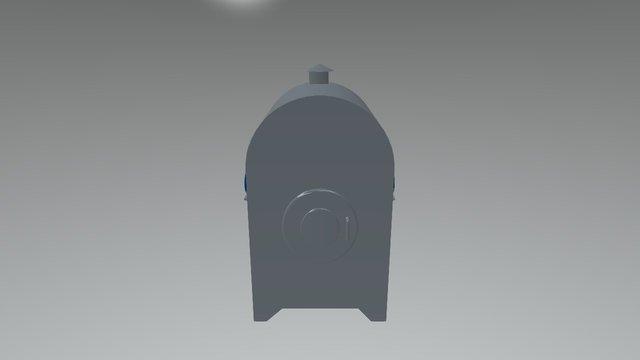 Aquecedor Lenha 3 3D Model