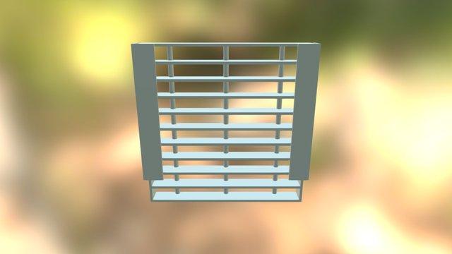 Grating Montado 3D Model