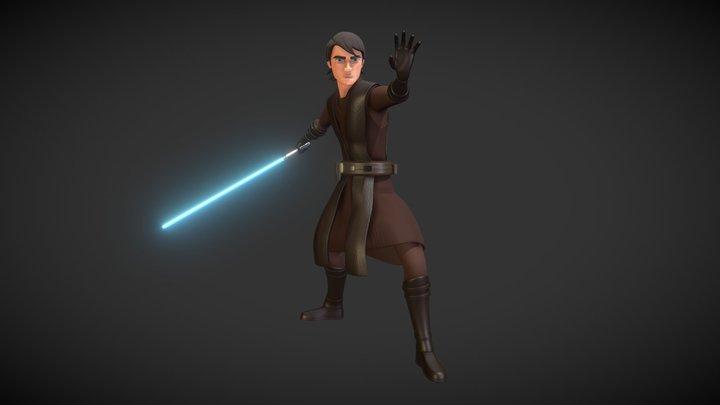 Anakin Skywalker 3D Model