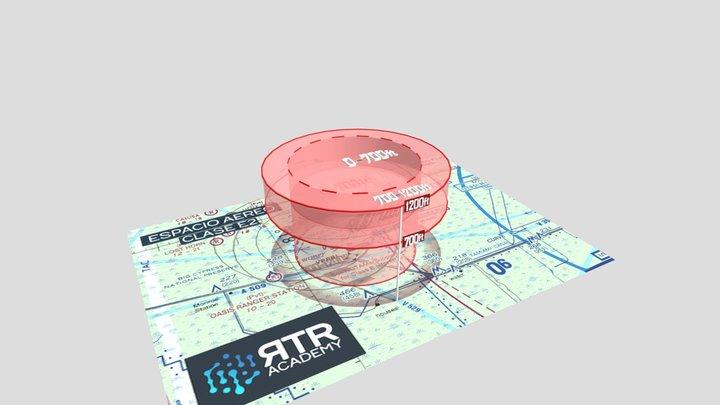 Espacio Aéreo Clase E2 - RTR Academy RPAs 3D Model