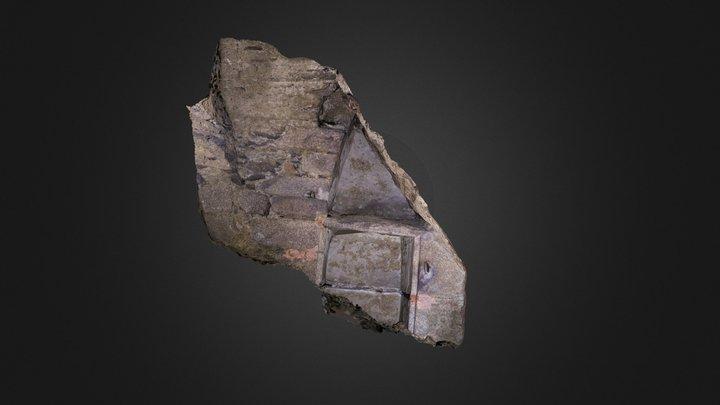 cave médiévale - niche 3D Model