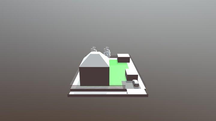 Dacha2 3D Model