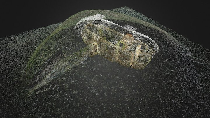 Unstan Neolithic Cairn, Orkney (Point Cloud) 3D Model
