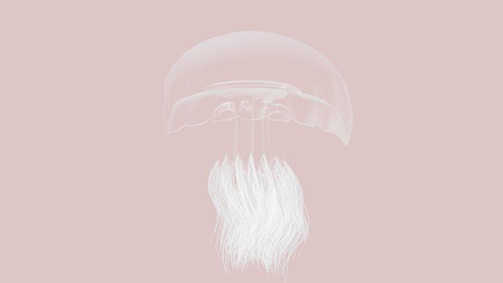1 Nemopilema nomurai 3D Model