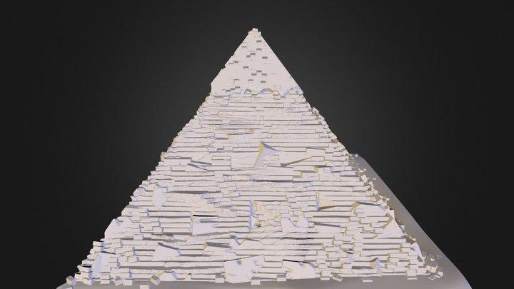 Giza Pyramid 3D Model