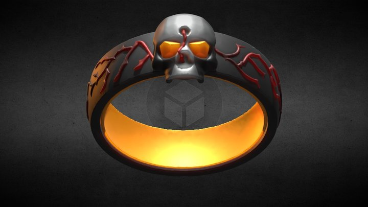 inktoVR / inktober Day One: Ring 3D Model