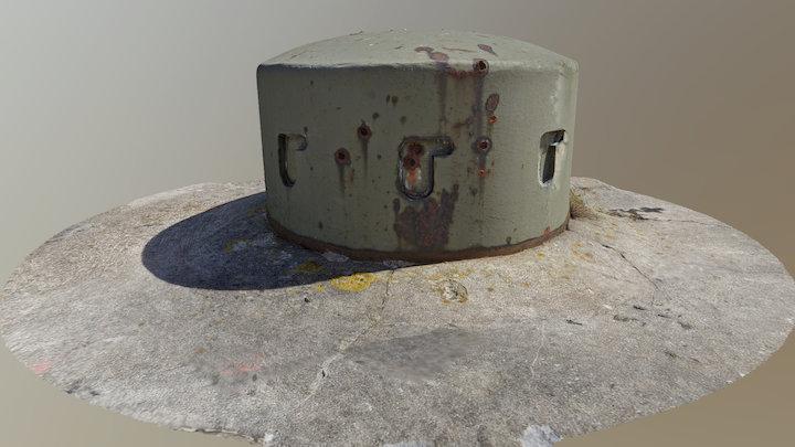 Observation cupola (bunker 830) 3D Model