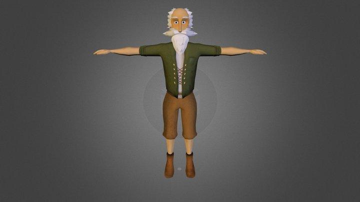 Boer Freddy 3D Model