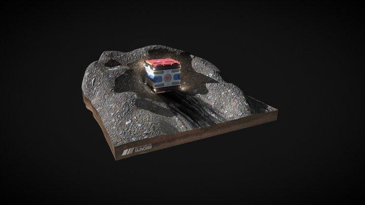 GUNDAM EDITION - MECHA CUBE 3D Model