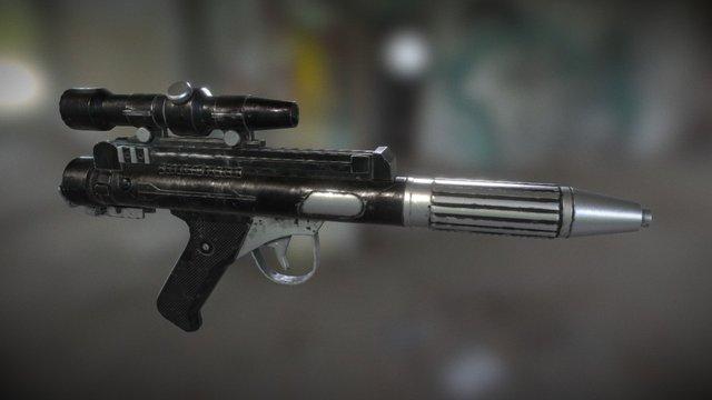 BlasTech DH-17 Model Blaster 3D Model