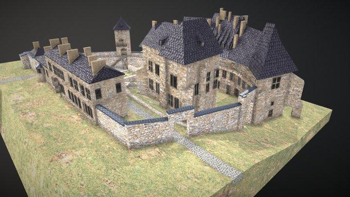 Saltworks Castle in Wieliczka 3D Model