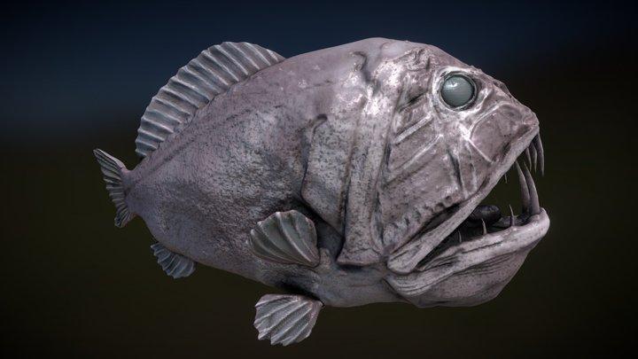 Fangtooth - SculptJanuary 3D Model
