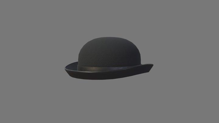 Bowler Hat 3D Model