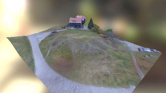 Tingshögen efter rekonstruktion 2015 3D Model