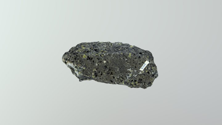 Picrite (olivine-rich basalt) 3D Model