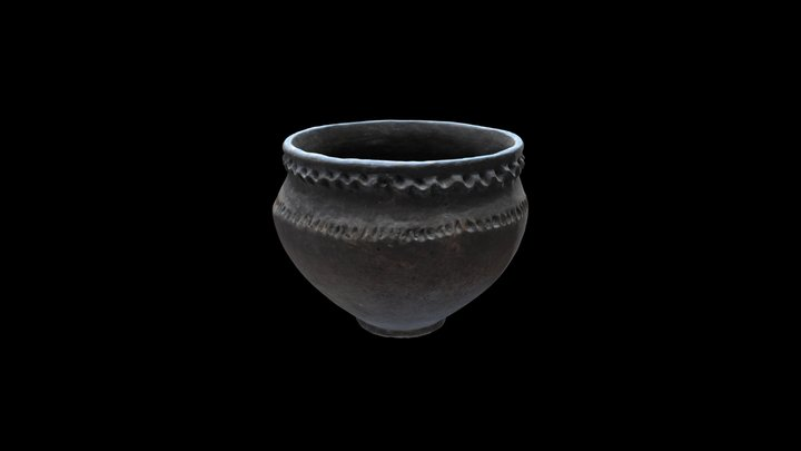 Corded Ware culture vessel 3D Model