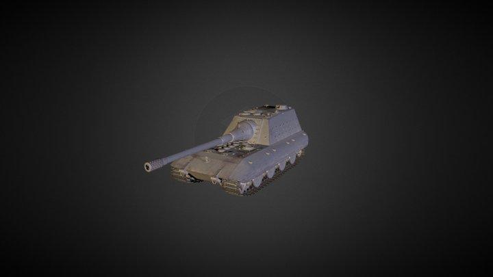 Jagdpanzer E 100 3D Model