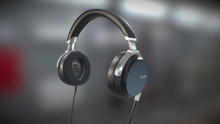SONY MDR-Z7 Headphones 3D Model
