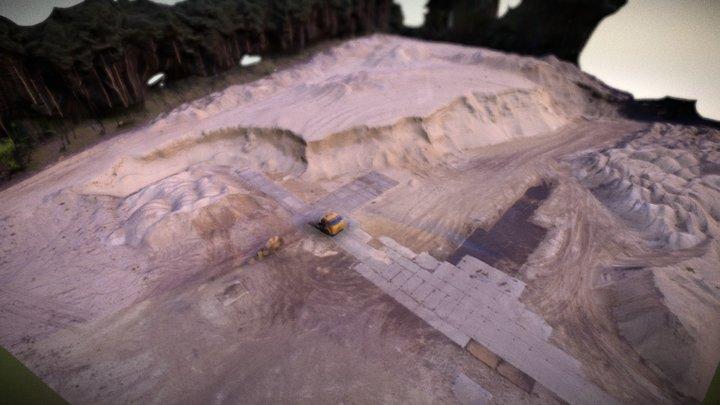 UAV Generated 3D Model 3D Model