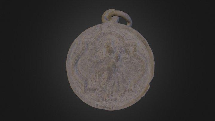 Devotional Medallion 3D Model