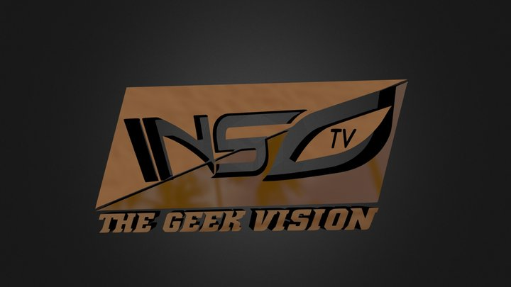 INSO TV logo 3D Model