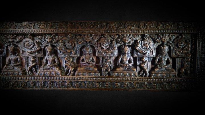 Tibetan bas-relief 3D Model