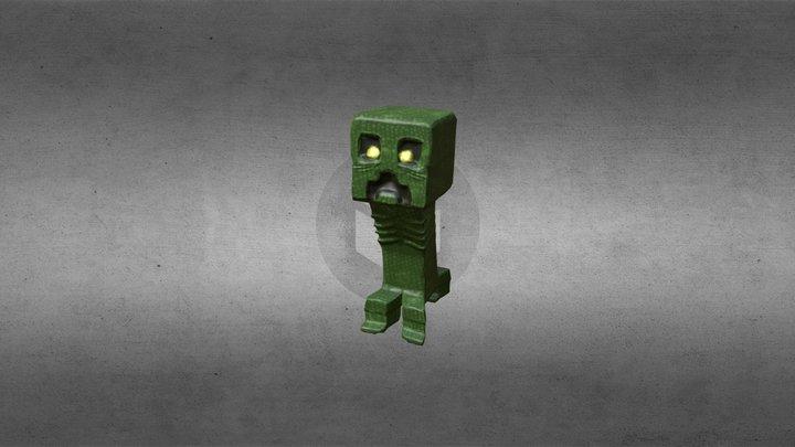 Creepy Creeper 3D Model