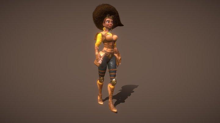 Grace - Warrior 3D Model