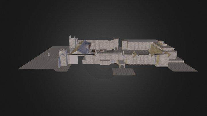 Queens University Belfast 3D Model