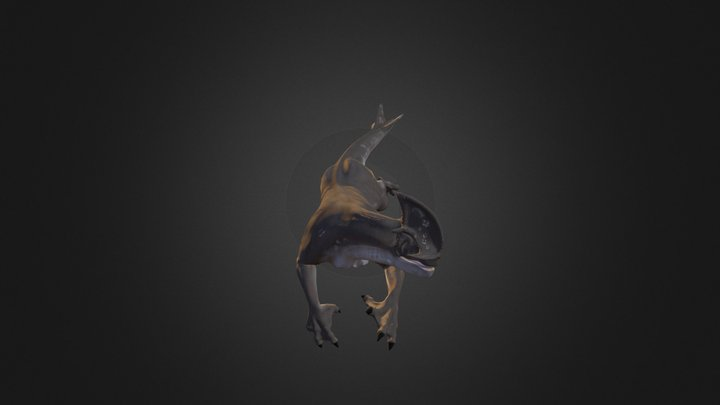 Sibutrex from the Animated Short Enigma (2010) 3D Model