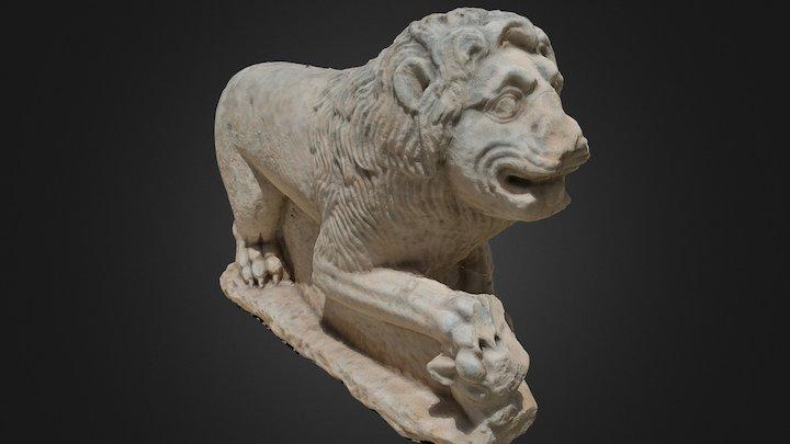 Lion Statue from Legio 3D Model