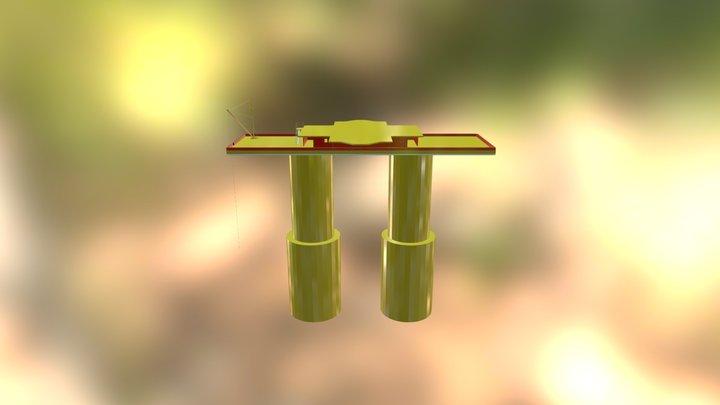 Sealand 3D Model