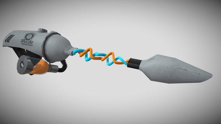 Aperture Gel Gun 3D Model