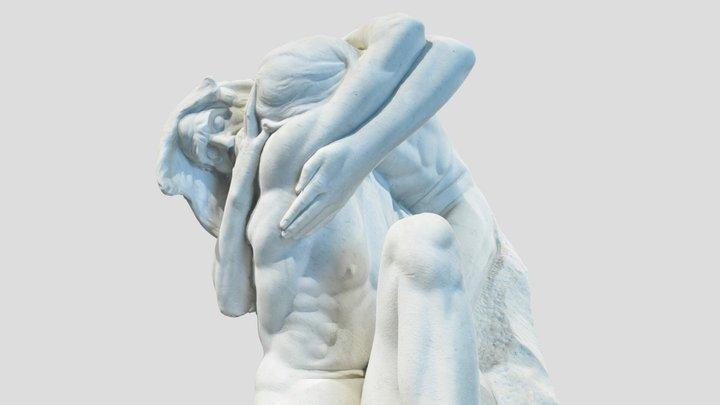 Prodigal Son Sculpture Photogrammetry Scan 3D Model
