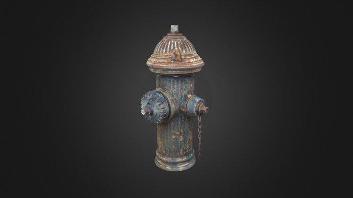 Fire Hydrant - 38th Street Astoria, Queens 3D Model