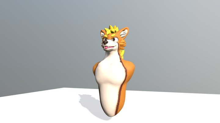 Commission For Mangoyena On Twitter 3D Model