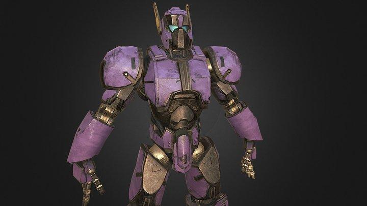 Mech 01 3D Model