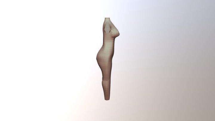 Character Model WIP 3D Model