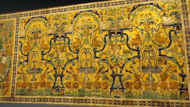 #WallScanChallenge Real Alcázar Sevilla azulejos 3D Model