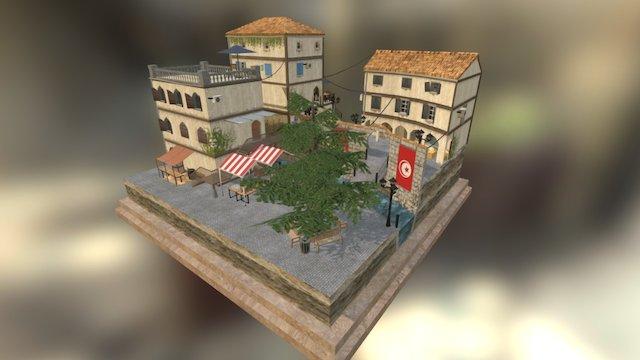 Syracuse Cityscene 3D Model
