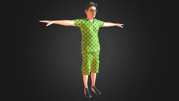 Antonio Minecraft outfit 3D Model