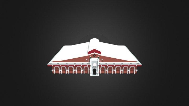 Mercado Barreteros 3D Model