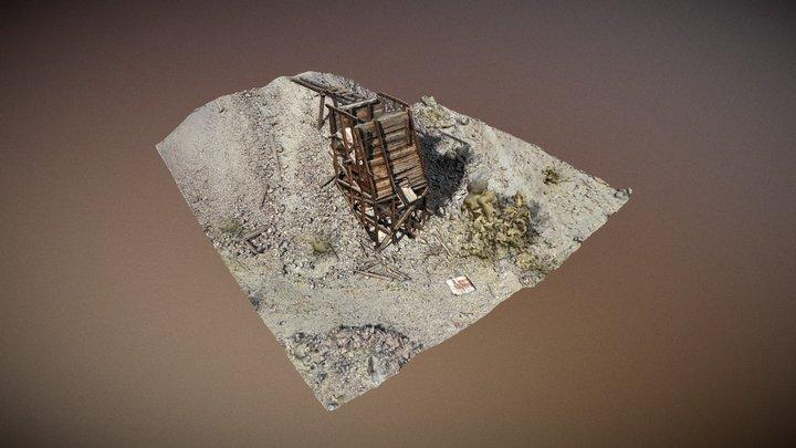 Desert Queen Mine 3D Model